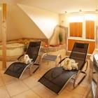 Sauna und Wellnessbereich